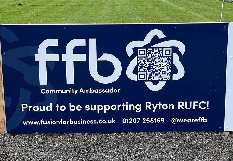 Ryton RFC secure Fusion sponsorship for next season!